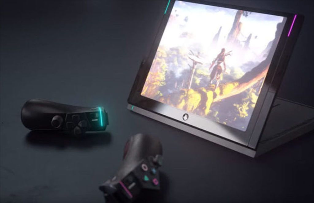 Une ps4 portable l 39 e3 un concept lui donne forme for Playstation 5 portable