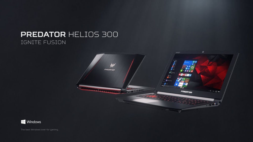 semaine promo acer portable gamer predator helios core i7 1 to de hdd gtx 1060 kulturegeek. Black Bedroom Furniture Sets. Home Design Ideas
