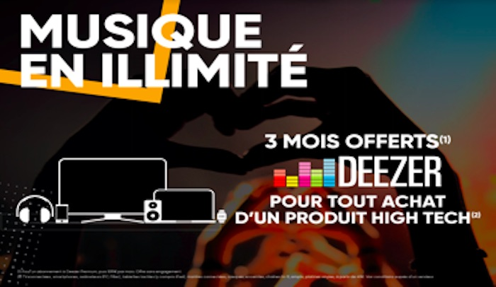 deezer premium maintenant offert pendant 3 mois pour tout. Black Bedroom Furniture Sets. Home Design Ideas