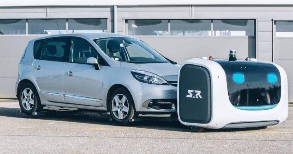 a l 39 a roport de lyon le robot stan peut garer votre voiture kulturegeek. Black Bedroom Furniture Sets. Home Design Ideas