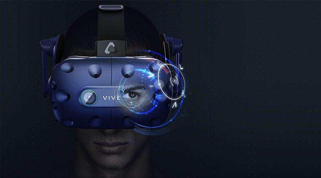 Le casque VR HTC Vive Pro Eye est disponible à la vente en