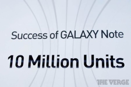 10 Millions Galaxy Note
