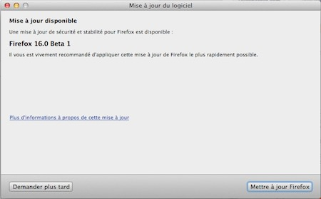 Firefox 16 Beta