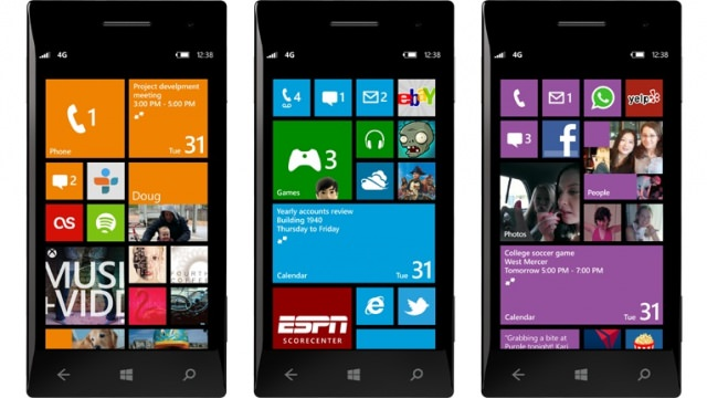 Windows Phone 8 Interface