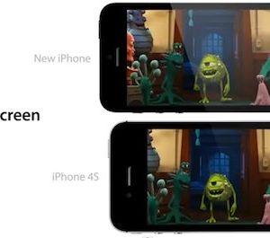 ecran 4 pouces iPhone 5
