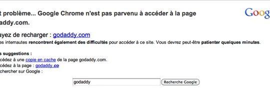 go-daddy google