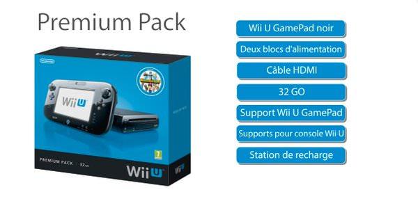 Hoto Console Nintendo Wii U Premium Pack