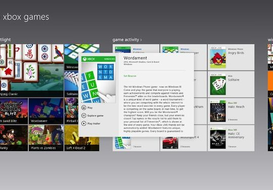 jeux windows 8