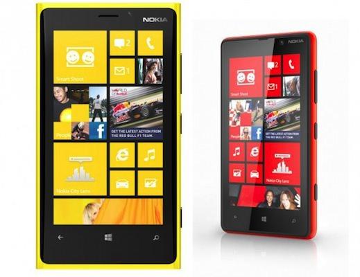 Nokia Lumia 920 820