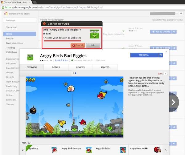 Bad Piggies Malware2