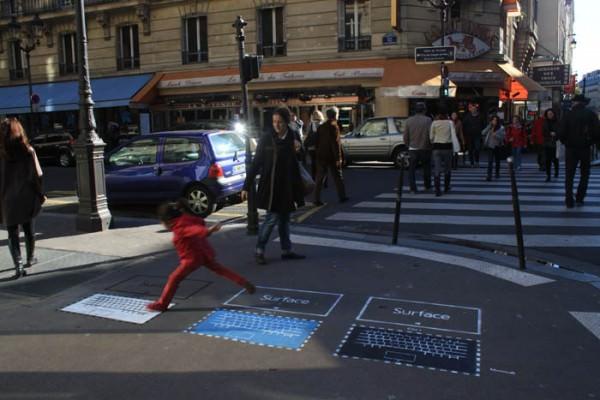 Microsoft Surface Paris