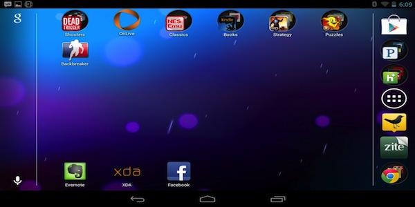 Nexus 7 Landscape