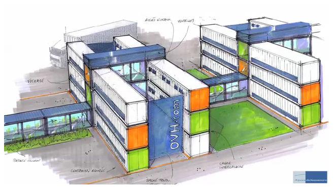 Datacentre Datacenter Modulable Evolutif Containers Salle Serveur Strasbourg