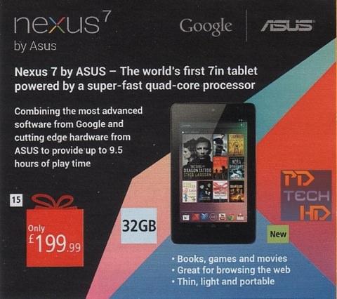 Nexus 7 32go