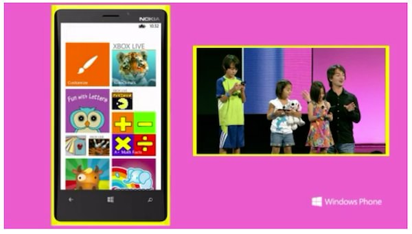 Photo Windows Phone 8 Kid Corners