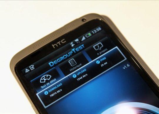 SFR 4G LTE HTC