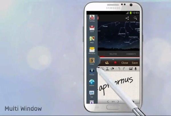 Galaxy Note Ii Mutliwindow
