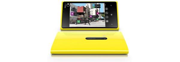 Nokia Lumia 920 Yellow Portrait