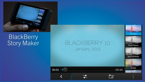 Blackberry Story Maker