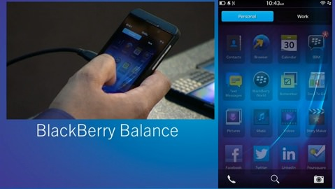 Blackberry balance