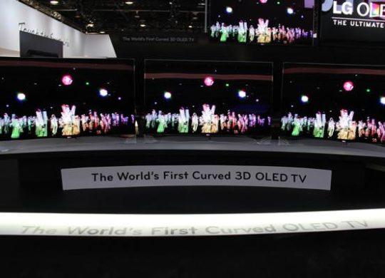 LG TV incurve