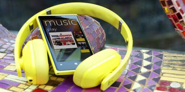 Lumia Casque music