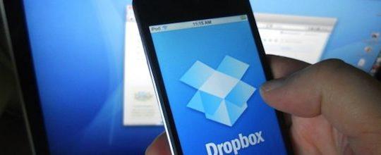dropbox iPhone