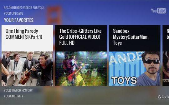 YouTube Playstation 3