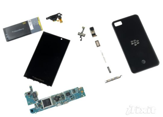 BlackBerry Z10 Demontage