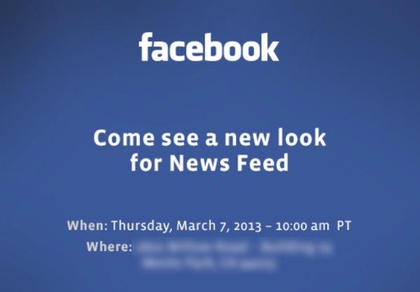 Facebook Conference 7 mars 2013