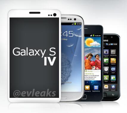 Maquette Galaxy S4 2