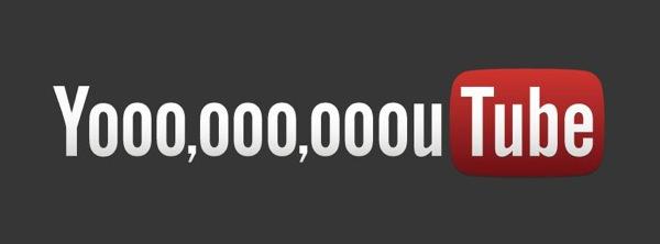 YouTube 1 milliard visiteurs