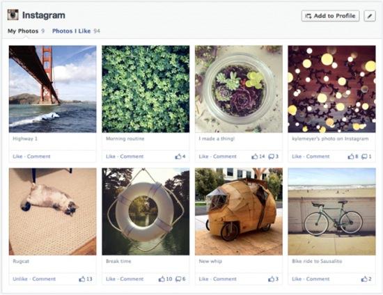 timeline facebook 2013-2