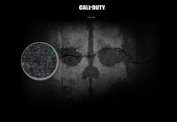 Call of Duty Ghosts site internet