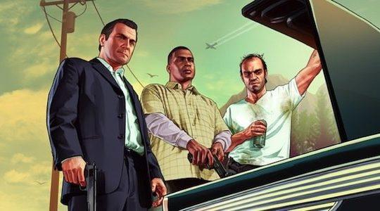 GTA V Michael Franklin Trevor