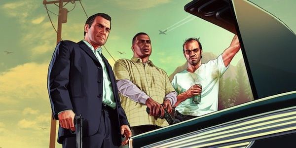 GTA V Michael Franklin Trevor