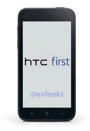 HTC First Facebook Phone Rendu