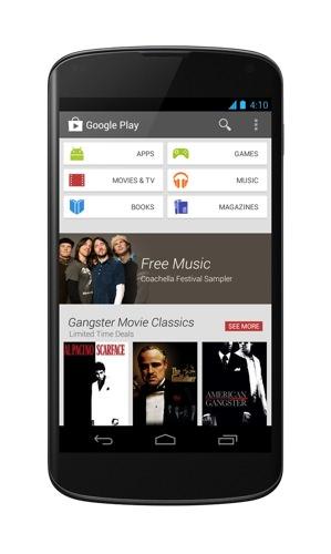 Nouveau Google Play 3