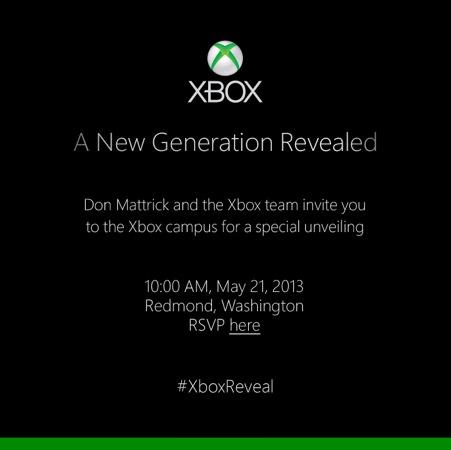 Nouvelle Xbox Invitation