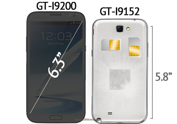 Samsung Galaxy Mega schema