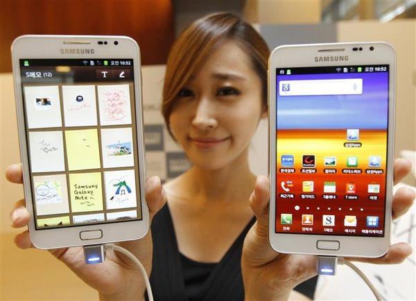Samsung Phablettes