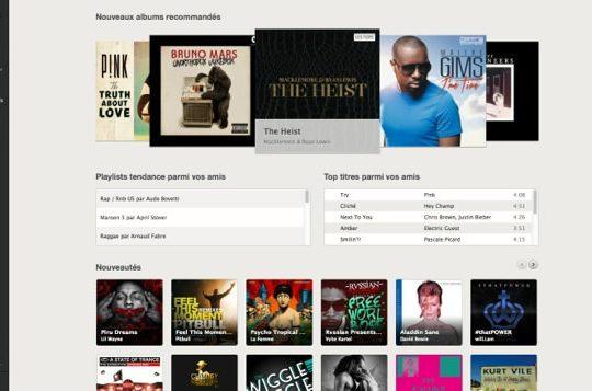 Spotify Lecteur Web