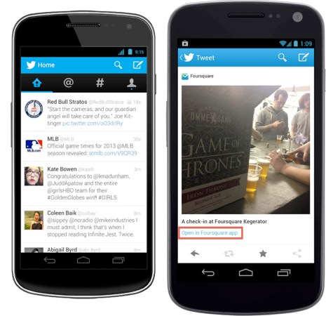 Twitter 4.0 Android