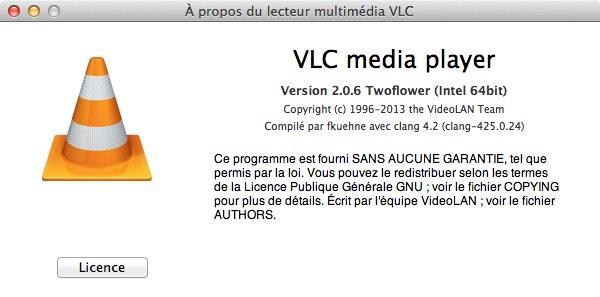 VLC 2.0.6 Mac