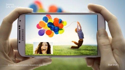 Samsung Galaxy S4 publicité