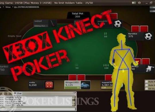 kinect-xbox poker