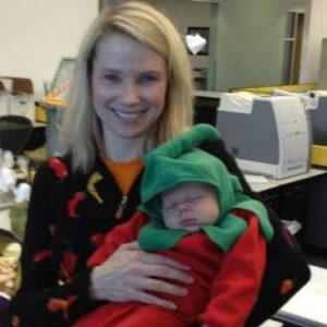 marissa mayer et son bebe