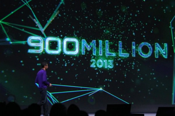 Android 900 millions activations