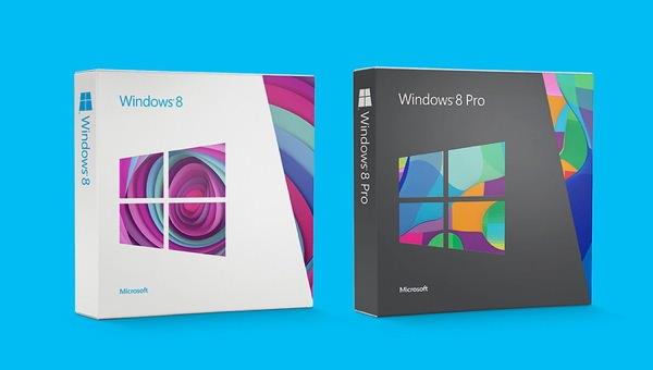 Boite Windows 8
