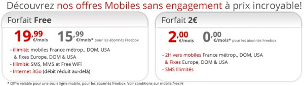 Free Mobile Offres reservees Freebox